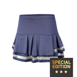 Long Pleat Tier Skirt