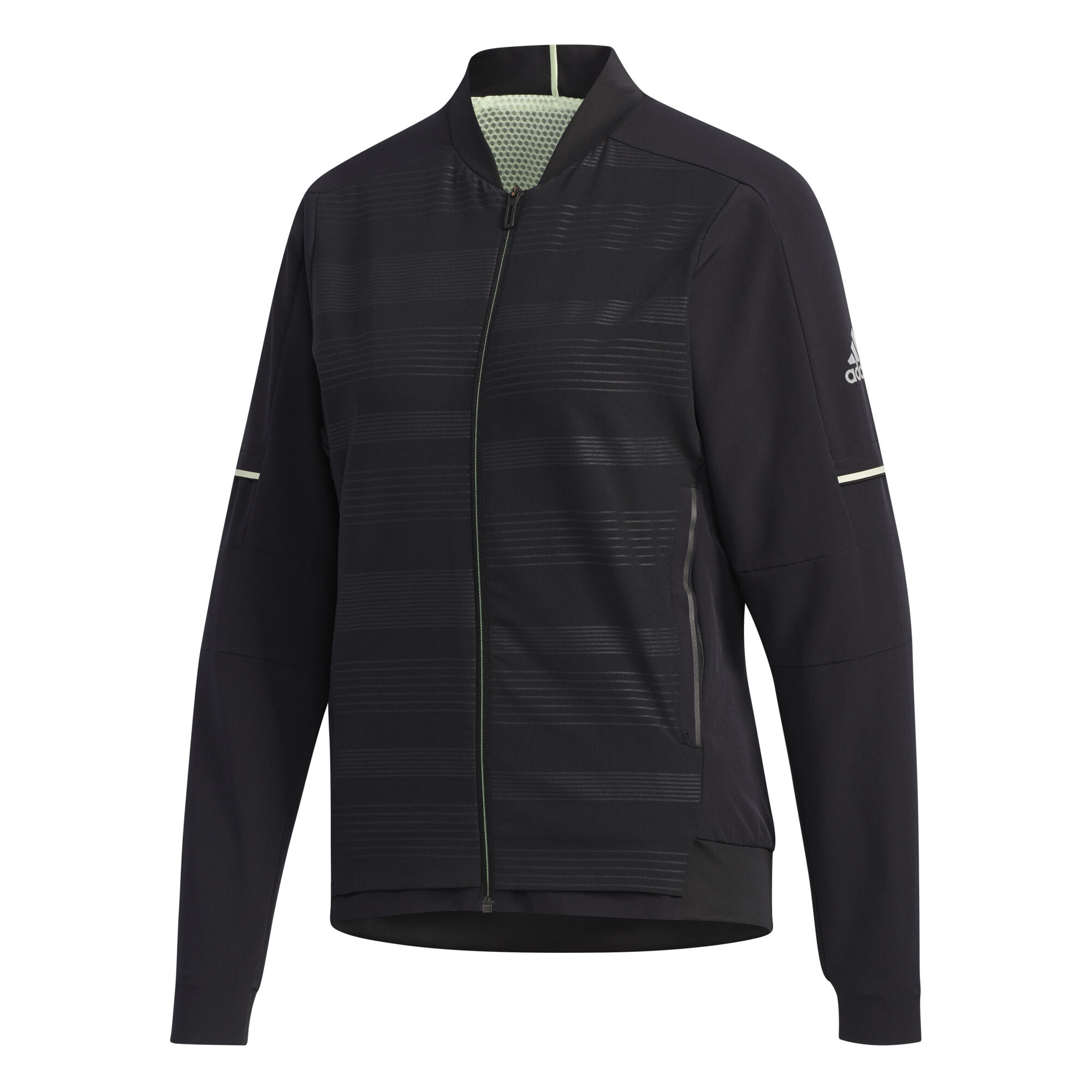 adidas Damen, MatchCode Trainingsjacke Koralle, Dunkelgrau