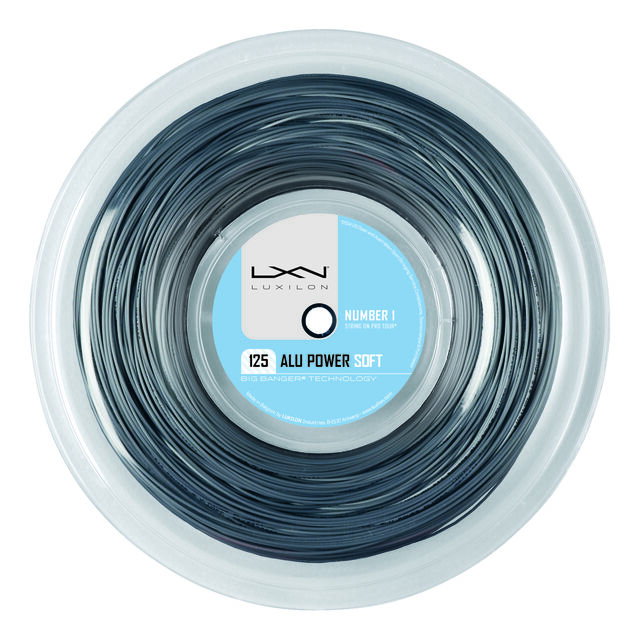 Alu Power Soft 200m silber
