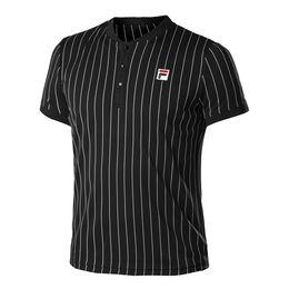 T-Shirt Stripes Button