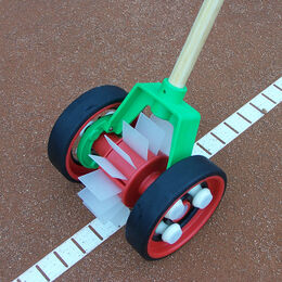 Linienkehrmaschine Bügel