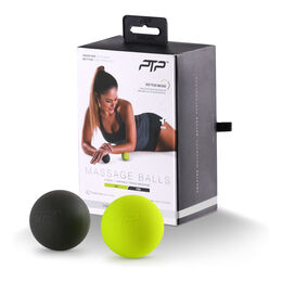 Massage Balls  lime/schwarz