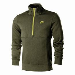 Sportswear Club Brushed-Back Half-Zip Sweatshirt