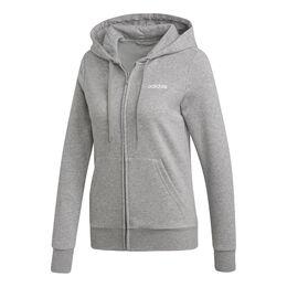 Essentials Plain Full-Zip Hoodie Women